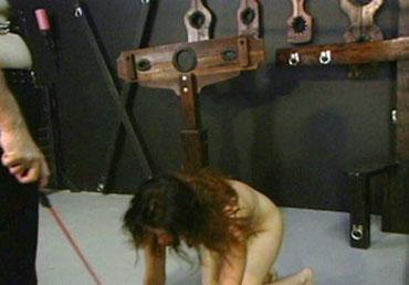 Bild klicken für mehr Stahl Bondage